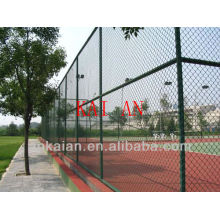 anping galvanised Iron 9 gauge chain link fence(high quality&competitive price)