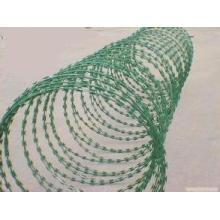 Galvanized Concertina Razor Wire Fence