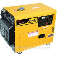 CE pequena outpurt poder 5kw silencioso gerador diesel (WH5500DGS)