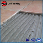 Ceramic tile adhesive for outdoors walls