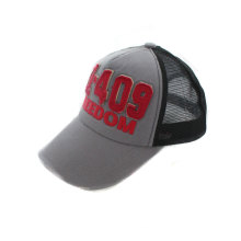 Foam and Mesh 5 Panel Trucker Cap with Patch Logo