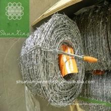 Hochwertiger PVC-beschichteter Stacheldraht