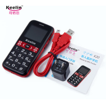 GPS Phone for Elder with Multiple Functions (K20)