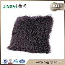 Gros dernier Fahion Tibet agneau laine coussin de laine