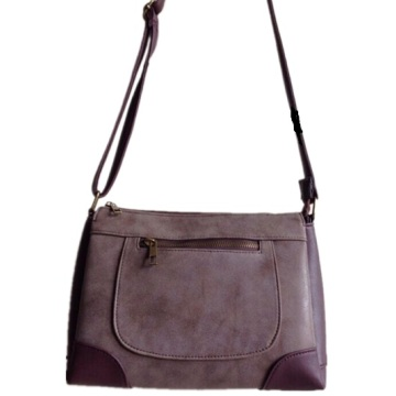 Guangzhou Fournisseurs Designer Femmes Faux Leather Crossbody Bag (A-0027)
