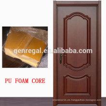 Puerta de madera aislada espuma del panel de bocadillo del CE