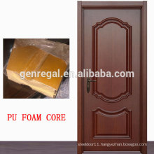 CE Sandwich panel PU foam insulated wood door