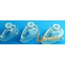 Medizinische Verbrauchsmaterialien Einmalige Qualitäts-Silikon-Anästhesie-Maske