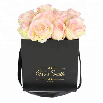 Quadratischer Geschenk Valentine Rose Flower Packaging Box