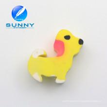 Precio bajo promoción borrador y perro en forma de goma