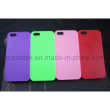 Difícil PC Mobile Phone Case para iPhone5/5s emborrachado caso