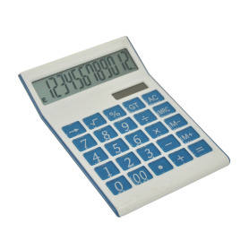 Custom dual power calculator 12 digit