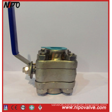 Forged Steel Thread End Fnpt Floating Ball Valve