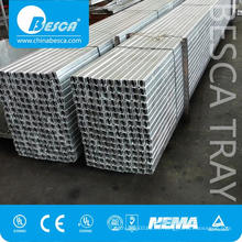 Canal de puntas de acero inoxidable SS304 o SS316 (fabricante de UL)