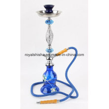 High Quality Blue Medium Zinc Alloy Hookah