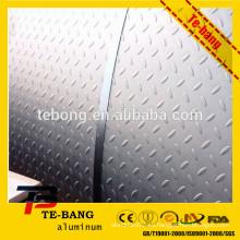 Embalaje de papel kraftpaper grabado hoja / bobina de aluminio con precio competitivo