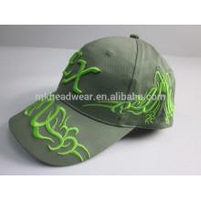 Gorra de béisbol de algodón lavado piedra al por mayor de alta calidad