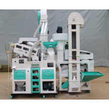 малый автоматический 1 тонну в час мельница завод машина риса