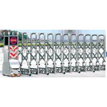 автоматические ворота из нержавеющей стали