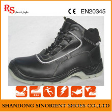 Black Steel Safety Shoes Dubai RS736