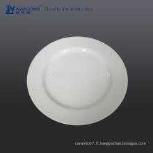 Plaque en porcelaine de bon marché de 11 pouces pour la vente en gros