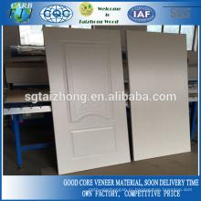 Дверь из белого меламина