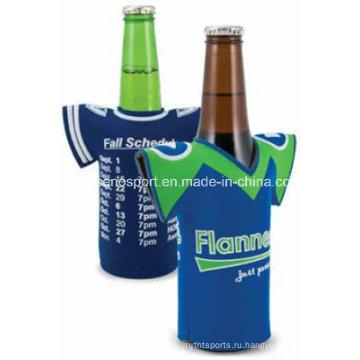 Хорошее качество Неопрен Футболка Stubby Охладитель бутылки бутылки (SNBC05)