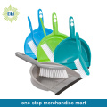 Dollar Items of Plastic Dustpan with Brush
