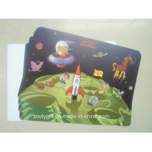 Colored Eco-Friendly Plastic Placemat Promotional Gift Table Mat