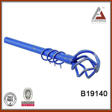 B19140 mordern fancy wrought iron curtain rod finials,decoration curtain rod accessories