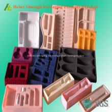 Flocking Kunststoff Kosmetik Tray Verpackung