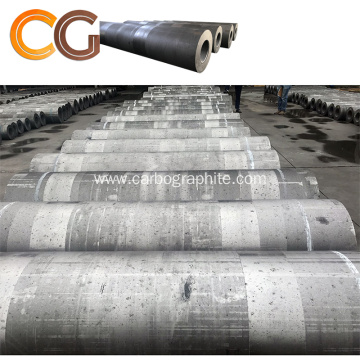 Density 1.60g/cm3-1.90g/cm3 UHP 300mm Graphite Electrode