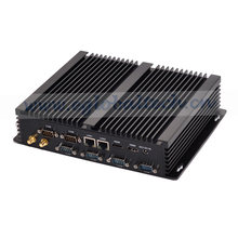 Industrial Fanless Mini PC Computer Server Windows Core I3 HTPC