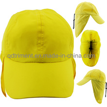 Tejido de microfibra de poliéster al aire libre de caza de trabajo de ocio Cap Hat (TMW0242)