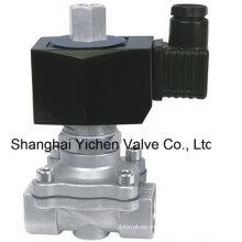 Válvula solenoide de rosca normalmente abierta de 24 VCC (YC2W)