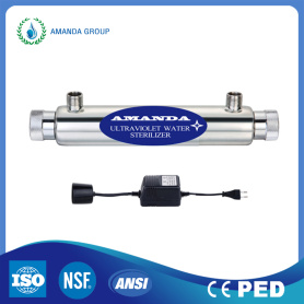 Ultraviolet Sterilizer System For Drinking Water Purifier
