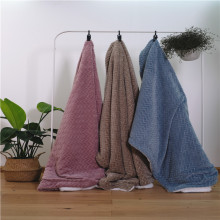 Double-layer Fleece Jacquard Air Conditioning Blankets