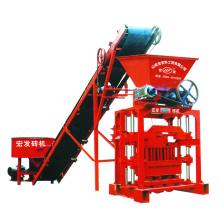 Construction Equipment  QTJ4-35B2 Automatic Concrete Block Making Machine For Sale