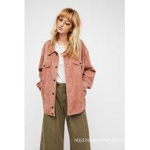 Romantic Women′s Ruffles Flow Jacket