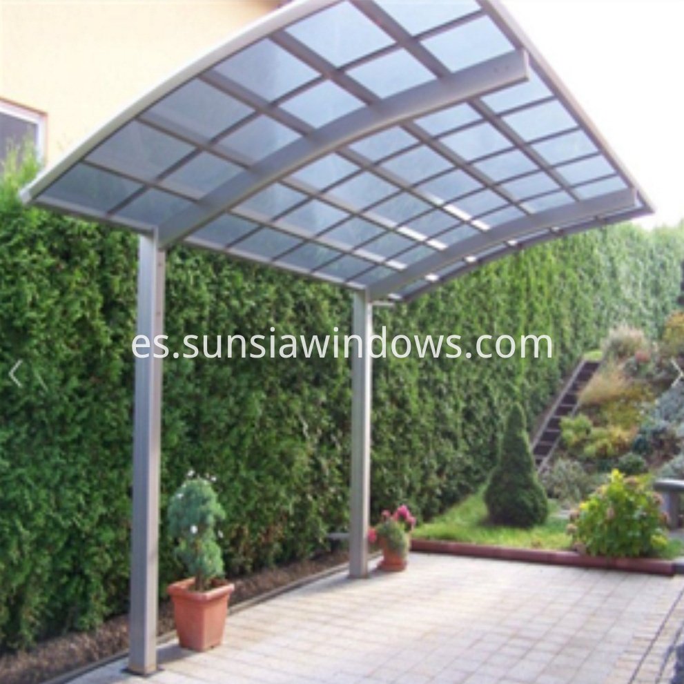 Polycarbonate Sunshade Carport