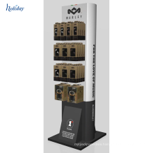 Cardboard Tray Floor Hanging POP Display,Retail Cardboard Hanging POP Display With Hook