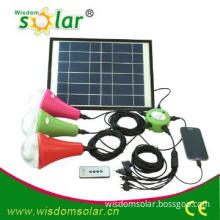 2014 Newest led solar home lighting system with remote control