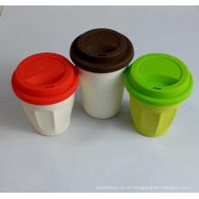(BC-C1035) Modische Design Bambus Faser Kaffeetasse