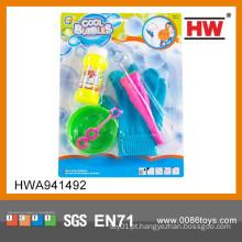 Crianças mais populares de plástico soprando bolhas de brinquedo