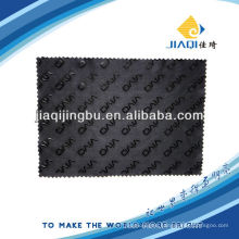 personalized microfiber cleaning cloths with rubber LOGO