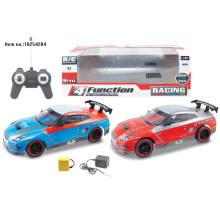 4 jouets à télécommande de voiture de Contorl de canal avec la batterie incluse