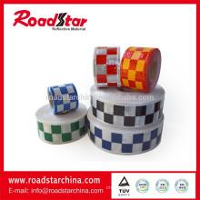 prismatic checker PVC reflective tape