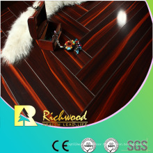 Household 12.3mm E1 Mirror Beech Waxed Edged Laminate Flooring