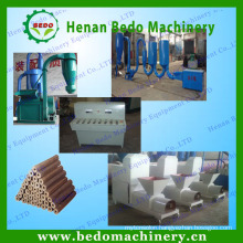 biomass briquette press production line made in China & 008613938477262