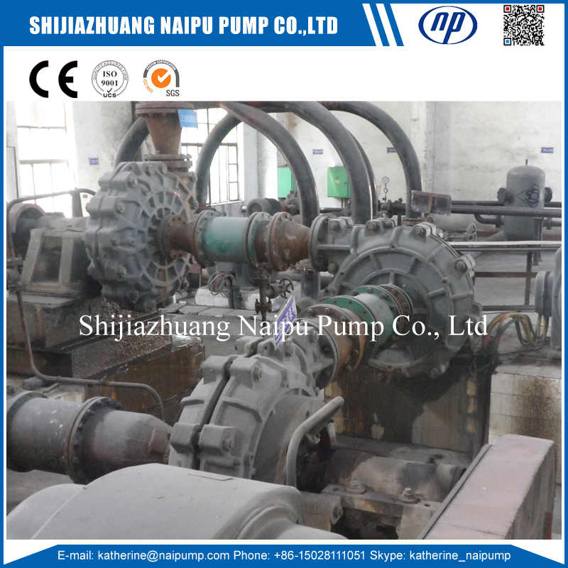 Slurry Pump in Series